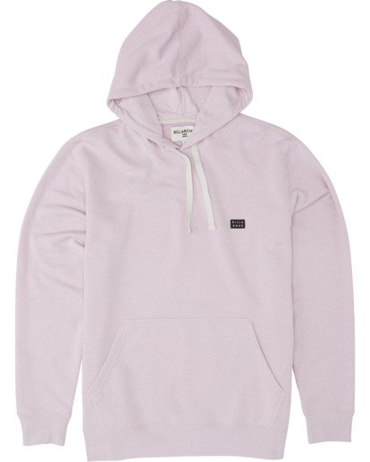 3 All Day Pullover Hoodie Purple M640VBAP Billabong