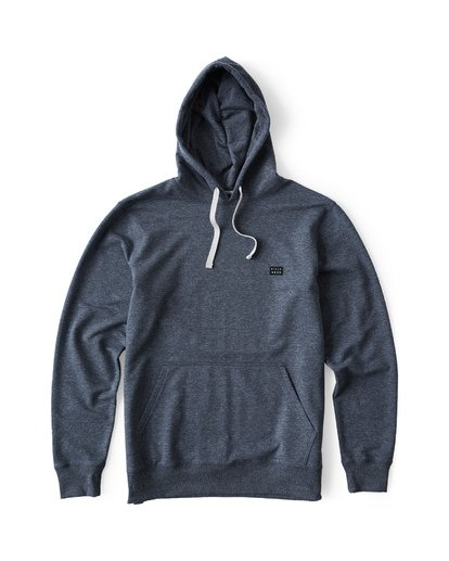 3 All Day Pullover Hoodie Blue M640VBAP Billabong