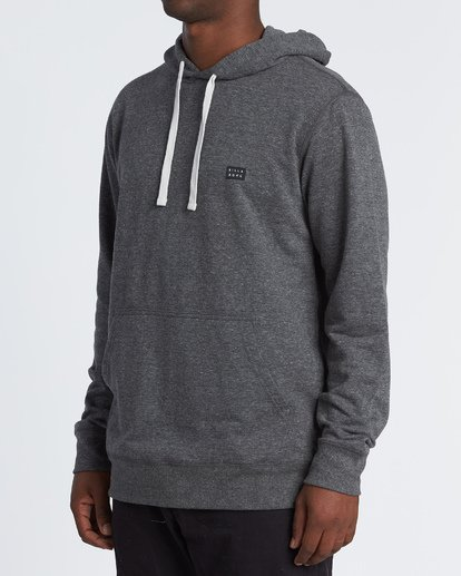 1 All Day Pullover Hoodie Black M640VBAP Billabong