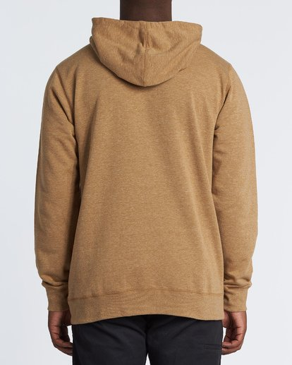 2 All Day Pullover Hoodie Brown M640VBAP Billabong