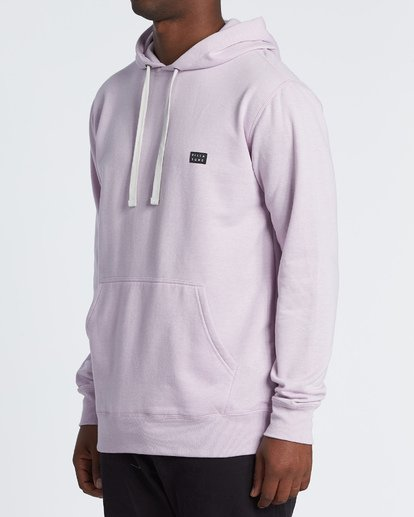 1 All Day Pullover Hoodie Purple M640VBAP Billabong