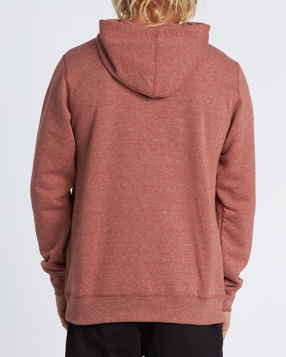 2 All Day Pullover Hoodie Red M640VBAP Billabong