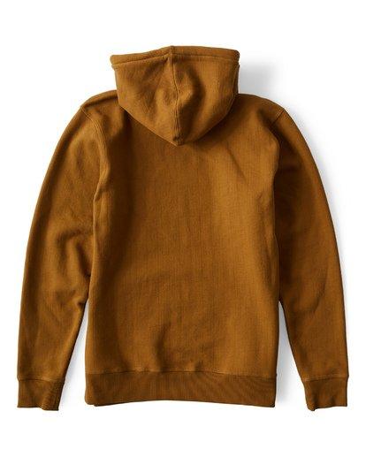 1 97 Fleece Pullover Brown M640VBCH Billabong