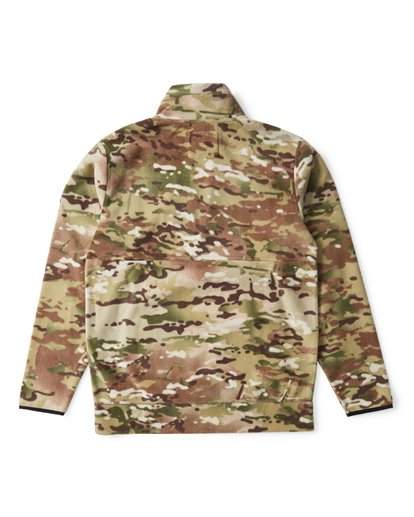 1 Boundary Multicam Polar Fleece Jacket Camo M640VBMC Billabong
