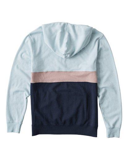1 Wave Washed Half Zip Sweatshirt Blue M640VBWH Billabong