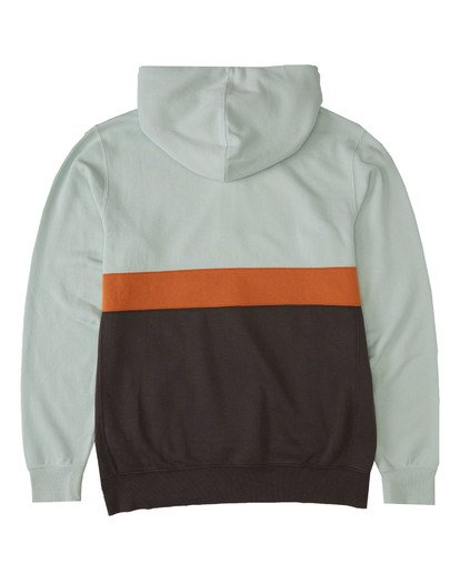 4 Wave Washed Half Zip Sweatshirt Multicolor M640VBWH Billabong