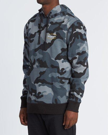 1 Pacific Camo Pullover Black M640WBCE Billabong
