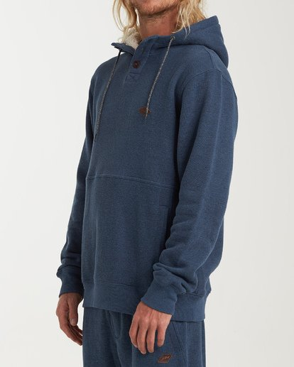 1 Hudson Pullover Hoodie Blue M640WBHU Billabong