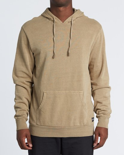 0 Essentials Pullover Brown M641WBEP Billabong
