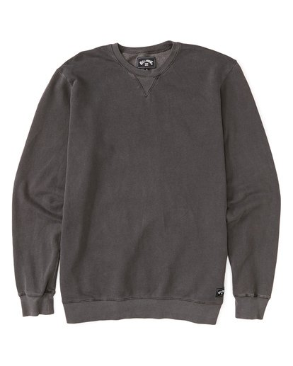 3 Essentials Crew Sweatshirt Black M642WBEC Billabong