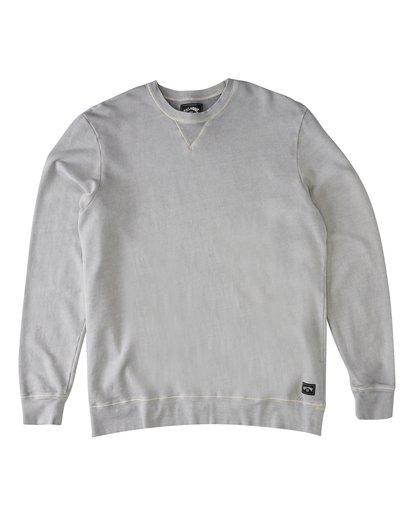 3 Essentials Crew Sweatshirt Grey M642WBEC Billabong