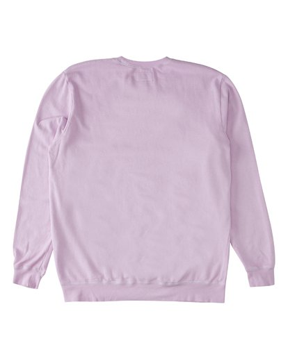 4 Essentials Crew Sweatshirt Purple M642WBEC Billabong