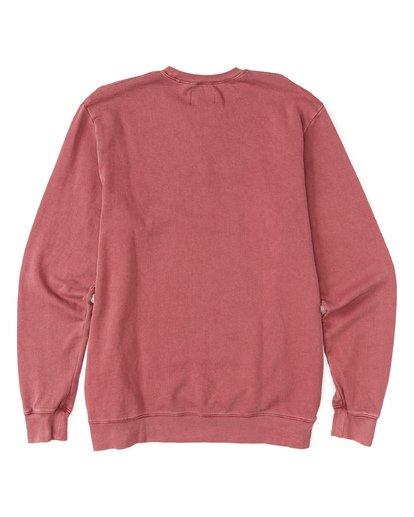4 Essentials Crew Sweatshirt Red M642WBEC Billabong