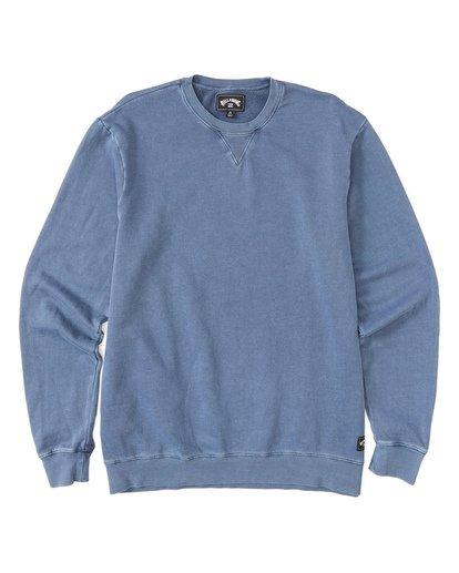 3 Essentials Crew Sweatshirt Blue M642WBEC Billabong