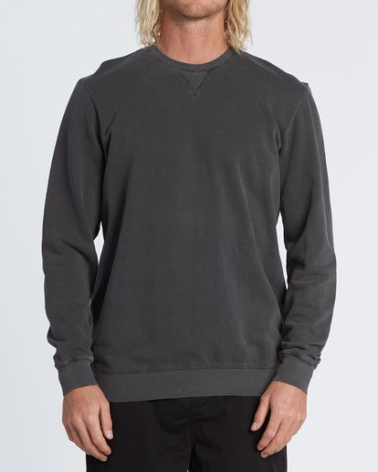 0 Essentials Crew Sweatshirt Black M642WBEC Billabong