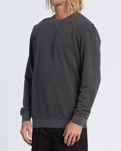 1 Essentials Crew Sweatshirt Black M642WBEC Billabong