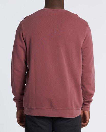 2 Essentials Crew Sweatshirt Red M642WBEC Billabong