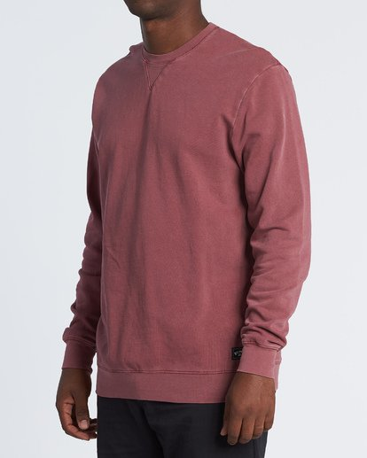 0 Essentials Crew Sweatshirt Red M642WBEC Billabong