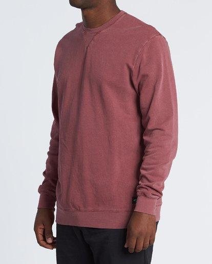 1 Essentials Crew Sweatshirt Red M642WBEC Billabong
