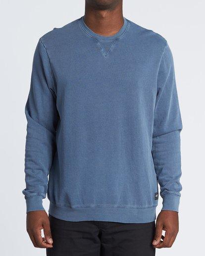 0 Essentials Crew Sweatshirt Blue M642WBEC Billabong