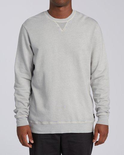 0 Essentials Crew Sweatshirt Grey M642WBEC Billabong