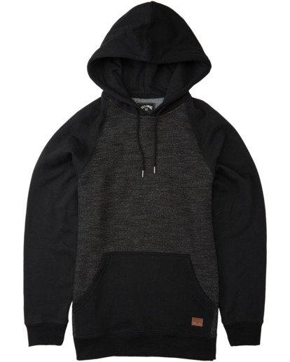 4 Balance Pullover Hoodie Black M6453BBP Billabong