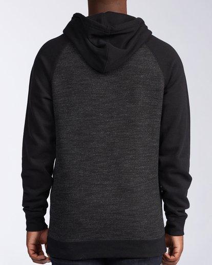 3 Balance Pullover Hoodie Black M6453BBP Billabong