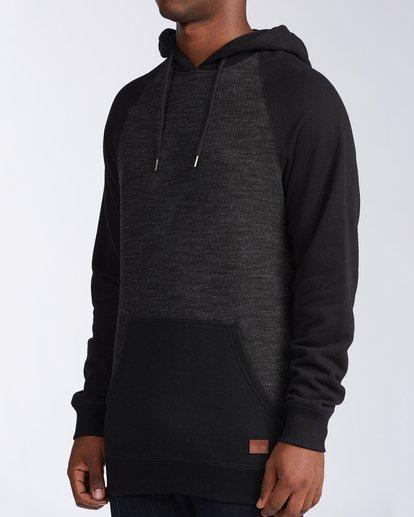 1 Balance Pullover Hoodie Black M6453BBP Billabong