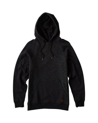 4 Balance Pullover Hoodie Black M645VBBP Billabong