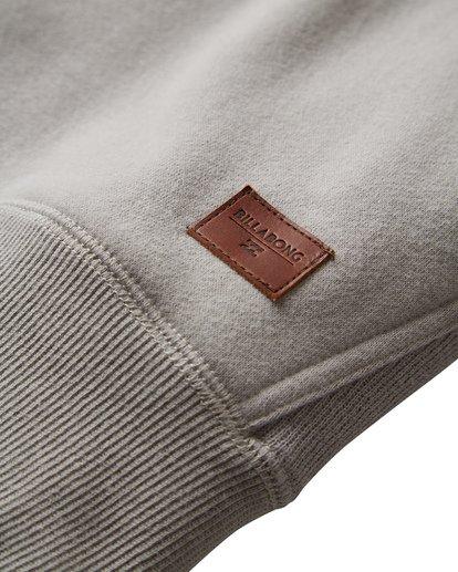 6 Balance Pullover Hoodie Grey M645VBBP Billabong