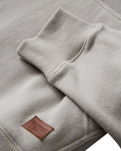 8 Balance Pullover Hoodie Grey M645VBBP Billabong