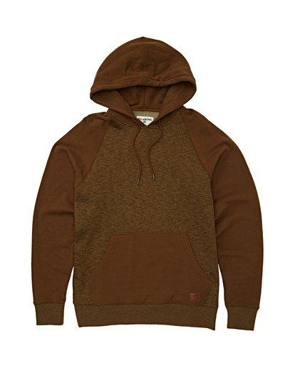 5 Balance Pullover Hoodie Brown M645VBBP Billabong
