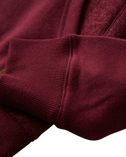 8 Balance Pullover Hoodie Red M645VBBP Billabong