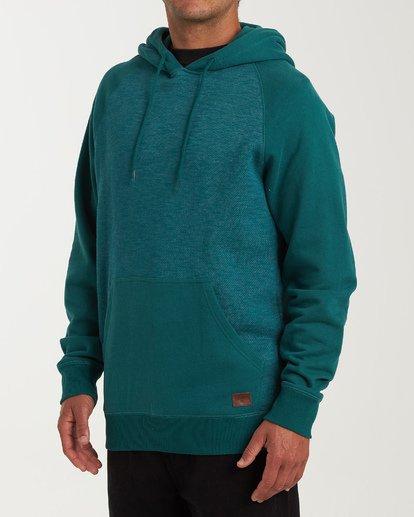 1 Balance Pullover Hoodie Green M645VBBP Billabong