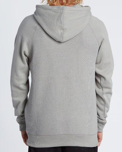 2 Balance Pullover Hoodie Grey M645VBBP Billabong