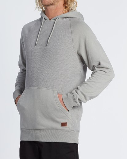 1 Balance Pullover Hoodie Grey M645VBBP Billabong