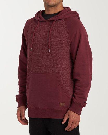 1 Balance Pullover Hoodie Red M645VBBP Billabong