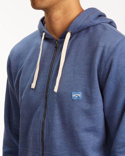 3 All Day Zip Hoodie Blue M6603BAZ Billabong