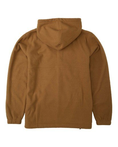 7 A/Div Boundary Zip Sherpa Hoodie Brown M6603BBM Billabong