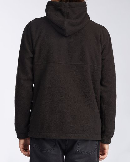 3 Boundary Zip Sherpa Hoodie Black M6603BBM Billabong