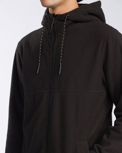4 Boundary Zip Sherpa Hoodie Black M6603BBM Billabong