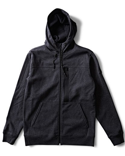 0 QUADRANT FURNACE ZIP Grey M660QBQZ Billabong