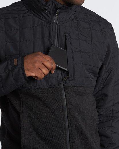 3 Boundary Zip Jacket Black M660VBBZ Billabong