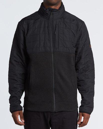 0 Boundary Zip Jacket Black M660VBBZ Billabong