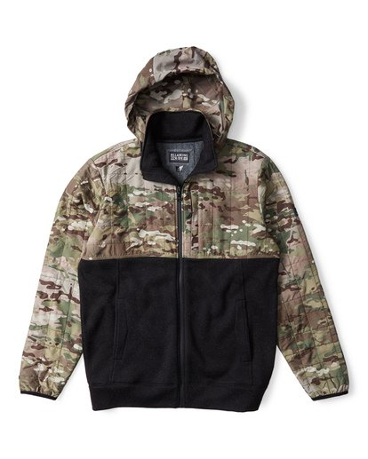 1 Boundary Zip Multicam Jacket Camo M660VBMC Billabong