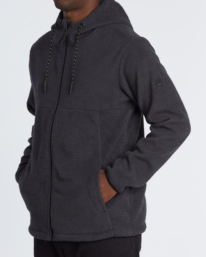 1 Boundary Brushed Zip Hoodie Black M660WBBZ Billabong