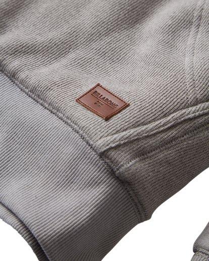 10 Balance Sherpa Zip Hoodie Grey M665VBBS Billabong