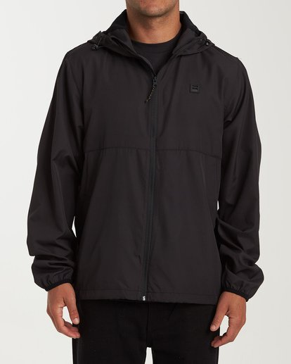 0 Transport Windbreaker Black M701VBRA Billabong