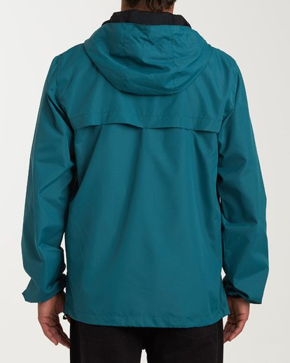 2 Transport Windbreaker Green M701VBRA Billabong