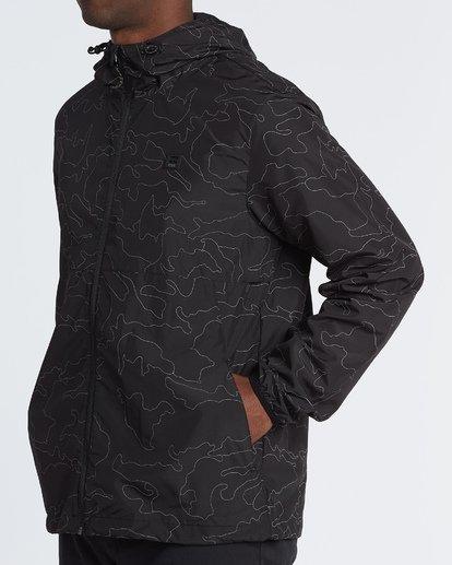 1 Transport Print Jacket Black M7021BTR Billabong